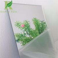 0.03-0.15mm Transparent Adhesive PE protective film for Mirror Surface for sale