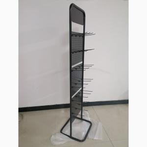 Universal Grocery Store Display Racks / Two Pegboard Metal Display Stand Manufactures