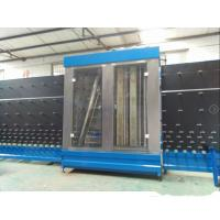 China Three Section Vertical Glass Washer ,  Industrial Glass Washing Machines Europe Design on sale