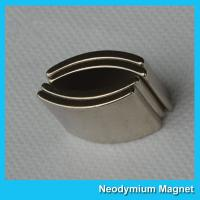 Arc Shaped Neodymium Permanent Magnet High Strength Customized Size Manufactures