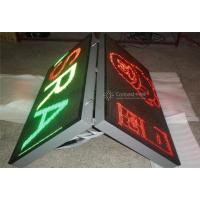 Full Color Double Sided LED Sign 6500 Nits For Outdoor Advertising Manufactures