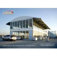 4m side height  double deck tent house for 300-500 people with Solid wall Manufactures