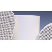 RTO Ceramic Catalyst Carrier , SCR Substrate / DOC Support  100CPSI Manufactures