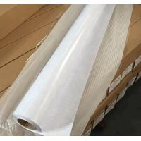 White Sparkle Cold Lamination Film Self Adhesive For Indoor / Outdoor Advertising