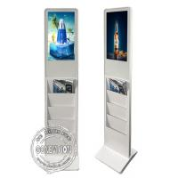 Lobby Floor Standing Digital Signage 1080 HD Andriod Mainboard Advertising Machine Manufactures