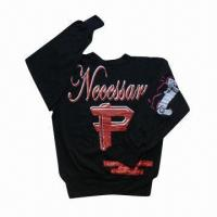 Buy cheap Men's Pullover , Made 100% Cotton, 260gsm, Customized Logo Printings are from wholesalers