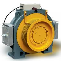 High Speed 400V Gearless Traction Machine , 1350kg Capacity MINI-2 Manufactures