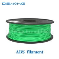 Green Flexible Consumables 3MM ABS Filament 1KG /Spool For MakerBot RepRap