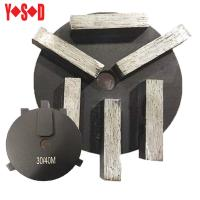 6 Segments Round Shape diamond grinding shoes Manufactures