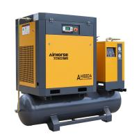 Quality Screw air compressor with air receiver and dryer. for sale