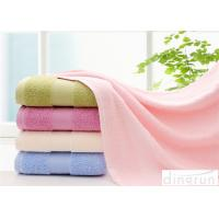 Comfortable Satin Cotton Bath Towels For Hotel / Home 400-600gsm