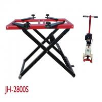 China 2800KG Lifting Capacity Mobile Scissor Lift , Scissor Lift Platform Dual Cylinders on sale