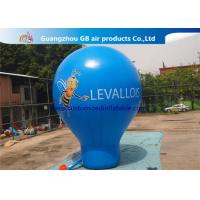 6m High Blue Giant Inflatable Advertising Balloon For Music Concerts Manufactures