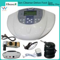 China ion cell cleanse therapy foot bath cleanse ionic cell detox machine on sale