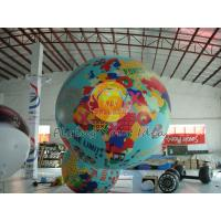Colorful inflatable advertising helium balloon with 0.18mm PVC Material for Trade show Manufactures