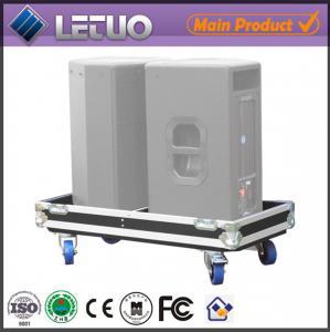 Aluminum flight case road case transport crate case pc speaker flight case Manufactures