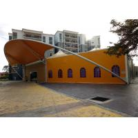 Self Cleaning Tensile Membrane Structures Fast Erection For Meeting Room Manufactures