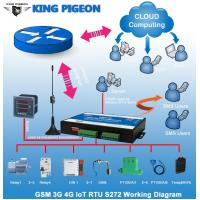 KP Gsm sms rtu controller GPRS modbus data logger with 3g module S272 Manufactures