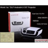 World 1 St Android 4.0.3 OS WiFi LED Mini Projector (C7) Manufactures