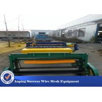 China Automatic Wire Mesh Manufacturing Machine High Speed 50X50-200X200MM on sale