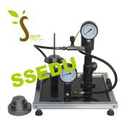 China Educational Equipment Technical Teaching Equipment Dead Weight Pressure Gauge Calibrator on sale