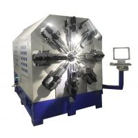 High Accuracy CNC Spring Making Machine Single - Axis Servo Motor Control Manufactures