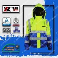 Buy cheap fluorescent red high visibility jacket from wholesalers