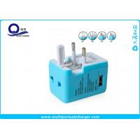 Universal Use Usb Multi Plug Travel Charger Adapter US / EU / AUS / UK Standard Manufactures