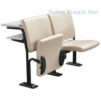 Cold Rolled Steel Frame Geniune Leather with Foam School Desk And Chair With Writing Desk Manufactures