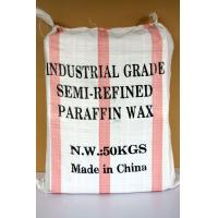 Buy cheap White Solid / Plate Semi-refined Paraffin Wax 54-56 8002-74-2 from wholesalers