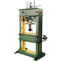 3150 KN PLC semi-auto Single Action horizontal Hydraulic Stamping Press machine working Manufactures