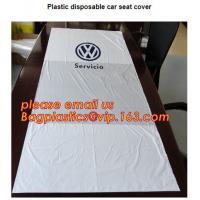 Disposable seat cover on a roll Wing cover Dust broom Universal front cover Wheel screw bag Screw bag including drawstri Manufactures