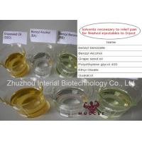 99% Purity Steroid Solvent Oil Benzyl Alcohol CAS 100-51-6 Steroid Chemical Addictives Manufactures