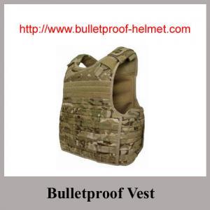 Wholesale NIJ IV Desert Color Waterproof 44MAG-Resistant Bulletproof Vest