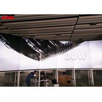 High Resolution Curved Video Wall For Radio And Television 700 Nits Manufactures