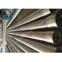 SS Johnson Wire Screen Tube / Welded Wedge Wire Screen ISO Listed Manufactures