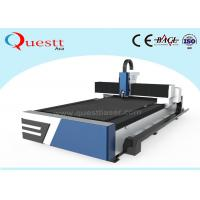 China Low Running Cost Metal Laser Cutting Machine 10640 nm Light Wavelength For Steel / Brass on sale