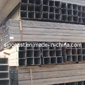 China Black Square Steel Tube on sale