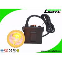 Buy cheap 11.2Ah Rechargeable Safety Mining Cap Lights , Brightest 50000lux Hunting Lamp , Waterproof IP67 from wholesalers