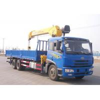 China Construction Lifting Equipment Telescopic Truck Mounted Crane With CE on sale