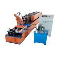China High Speed U Channel Roll Forming Machine Servo Motor Drive Uncoiler Loading Capacity 3T on sale