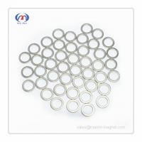 China NdFeB Ring magnets with thin wall on sale
