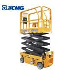 XCMG GTJZ0607 7.8m Mobile Scissor Lift Platform / Hydraulic Work Platform Manufactures