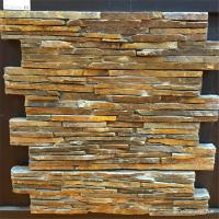Natural Stone Cement Backed Stone 3D Decoration Wall Panel Corrosion Resistant Manufactures