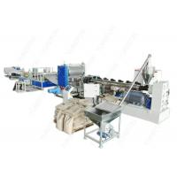 China Full Automatic Plastic Sheet Extrusion Line , Colorful Dimpled Drainage Membrane Extruder on sale