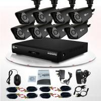 Night Vision 8CH Full HD CCTV DVR Kit IR 800TVL for Home Camera Security System Manufactures