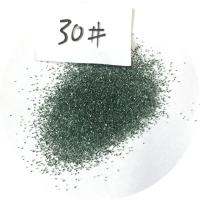 China Green SiC Green Silicon Carbide for Building Materials Ceramic and Grinding Wheel Industry on sale