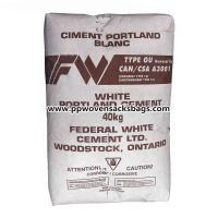Poland Cement / Block Bottom Kraft Paper Valve Sacks Mineral Packing PP Woven Bags Manufactures