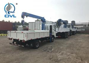 China SINOTRUK HOWO 6X4 Truck Mounted Crane 12 Tons With Warranty  Truck with Loading Crane on sale