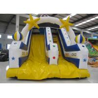 China High Slide Mini Inflatable Pool Slide , Waterproof Funny Commercial Slip And Slide on sale
